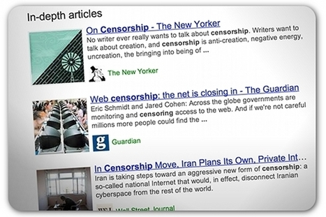 How Google's 'In-Depth Articles' feature could affect PR | Corporate Communication & Reputation | Scoop.it