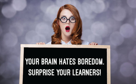 Use the Psychology of Surprise to Grab Your Learner's Attention | Pedagogy | Scoop.it