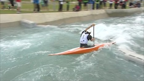 BBC Sport - GB slalom canoeists fail to reach podium at test event | Canoeing & kayking | Scoop.it