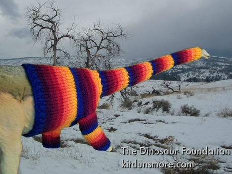 Saving Dinosaurs, One Sweater At A Time | Spinning, Weaving and Knitting | Scoop.it
