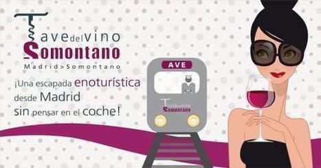 En Ave, a degustar el vino de Somontano | TrenIT | Scoop.it