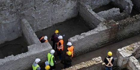 Une caserne de l'Antiquité découverte en creusant le métro au cœur de Rome - Le Monde   Quoi de neuf sur le Web en Histoire Géographie ?   Scoop.it