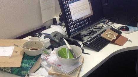 Scientific proof that creative people have messy desks | Library Display Boards | Scoop.it