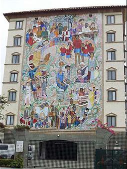 Italo Botti: Autor argentino de uno de los mayores murales de mosaico en vidrio del mundo | Argentinos destacados en el mundo! | Scoop.it