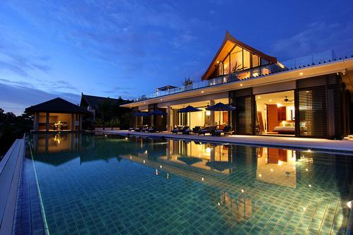 Incroyable villa exotique contemporaine sur le de phuket en tha lande construire tendance for Villa a construire