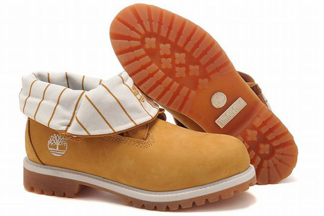 timberland women roll top boots wheat white | popular list | Scoop.it
