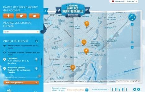 La carte touristique personnalisée et sociale vue par KLM « etourisme.info | TIC TIC TIC ... CM | Scoop.it