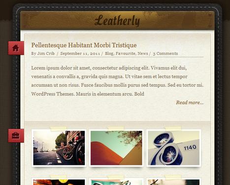 30 Wordpress Themes That Look Like Tumblr   Web Design and Wordpress   Scoop.it