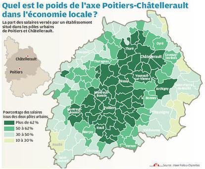 L'axe Poitiers-Châtellerault est le poumon de la Vienne #Châtellerault | ChâtelleraultActu | Scoop.it