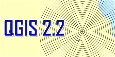 QGIS 2.2: Geração de um Buffer com Base na Tabela de Atributos | Materiais didáticos: QGIS | Scoop.it