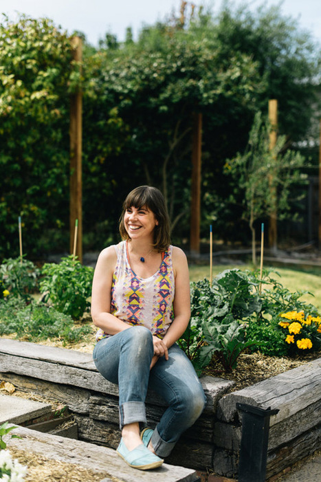 Interview · Natasha Grogan of The Sage Garden | The Design Files | Wellington Aquaponics | Scoop.it