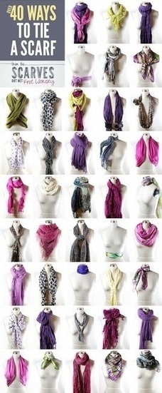 Scarves | Fine Tuned Fashion | Scoop.it