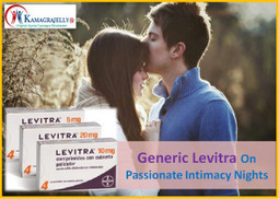 Generic Levitra Gives Satisfactory Results During Intimacy | Health | Scoop.it