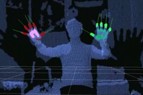 Kinect finally fulfills its Minority Report destiny (video) | HCI for humans | Scoop.it