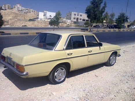 Mercedes 200 1975 1200 JDs - for sale in jordan | Cars For Sale In Jordan | Scoop.it