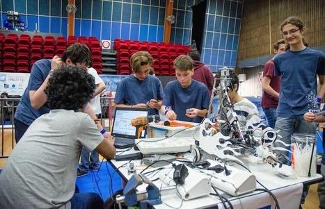 Grenoble INP, co-organisateur de la 5ème édition du concours international de robotique «FIRST Tech Challenge» pour les lycéens et collégiens   E-learning francophone   Scoop.it