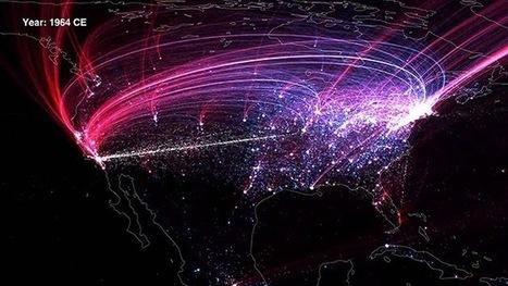 Mapas animados recrean la historia de la fuga de talentos en Norteamérica y Europa | space oddity | Scoop.it