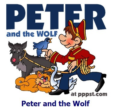 Free PowerPoint Presentations about Peter and the Wolf | FOTOTECA MUSICAL | Scoop.it