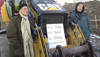 Ontario Activists Protest Tar Sands Pipeline By Locking Themselves to Machinery | State of Flux Weekly | Scoop.it