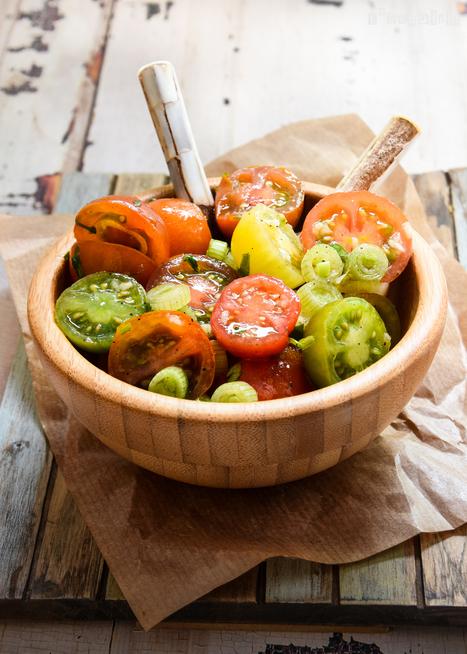 Ensalada de tomates | Passion for Cooking | Scoop.it