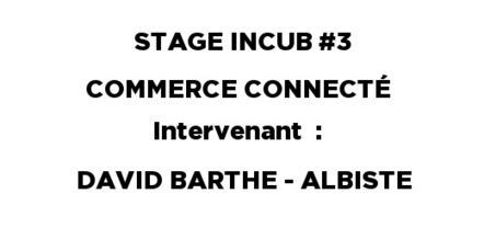 Troisième intervention auprès des étudiants du dispositif stage incub : DAVID BARTHE – ATELIER COMMERCE CONNECTÉ - Entreprendre | Commerce Connecté Local | Scoop.it