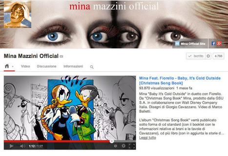 Anche Mina sbarca su YouTube e si affida a BuzzMyVideos | Music I like | Scoop.it