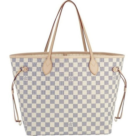 Louis Vuitton Outlet Neverfull MM Damier Azur Canvas N51107 For Sale,70% Off | Louis Vuitton Handbags Outlet Online | Scoop.it