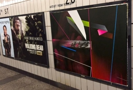Turn subway billboards into art with ad-blocking augmented reality app   Culture augmentée - Augmented culture   Scoop.it