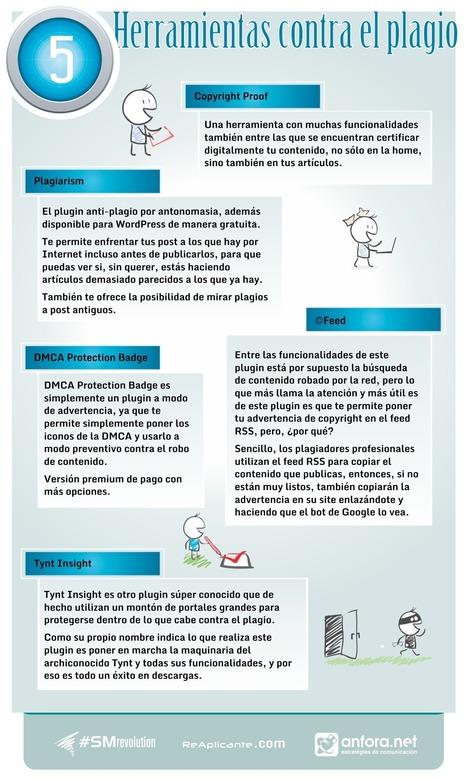 5 herramientas contra el plagio | Actualidad Blogging | Scoop.it