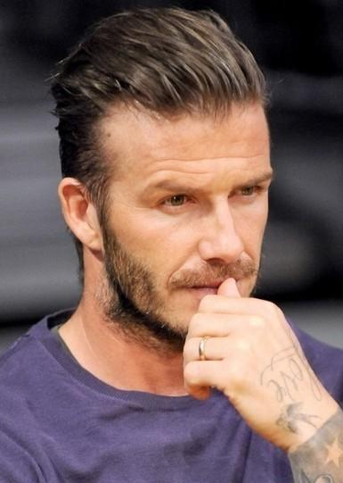 David Beckham Hairstyles 2013