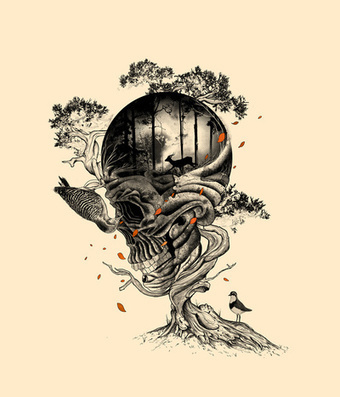 Lost Translation Art Print by Nicebleed | Society6 | Art Collection | Scoop.it