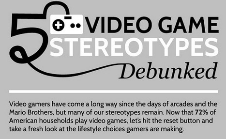 5 Video Game Myths Debunked ~ Educational Technology and Mobile Learning | Gamification why not? | Scoop.it