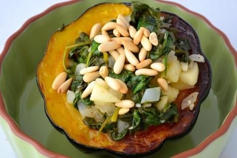 Gluten-Free Recipe: Stuffed Acorn Squash « Gluten Free Works   Gluten Sensitive   Scoop.it