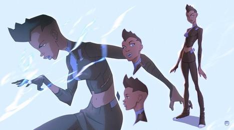 Radical BATMAN BEYOND Character Designs from KizerStone | Geek On | Scoop.it