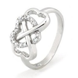 Silver Infinity Ring | Ring Ideas | Scoop.it