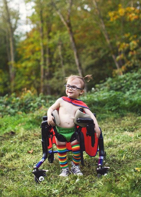 Mom's Inspiring Photos Show Kids With Special Needs As Superheroes | News | Scoop.it