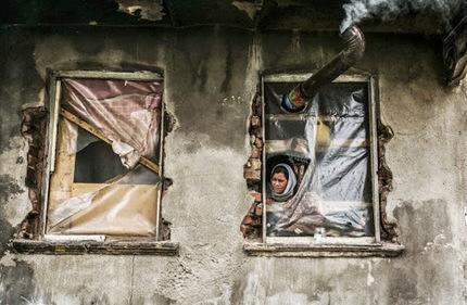 Une #réfugiée syrienne quartier de Kucukpazar à #Istanbul | Photographies Tirage Photo de l'AFP Agence France Presse | Scoop.it