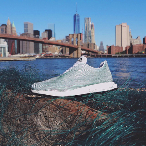 Adidas Is Introducing a Sneaker Made Entirely of Trash  | De wereld in overgang | Scoop.it