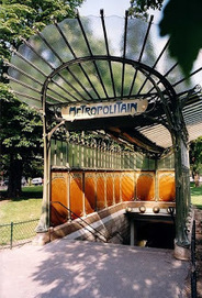 #069 ❘ la station de métro porte Dauphine ❘ Hector Guimard (1867-1942) | # HISTOIRE DES ARTS - UN JOUR, UNE OEUVRE - 2013 | Scoop.it