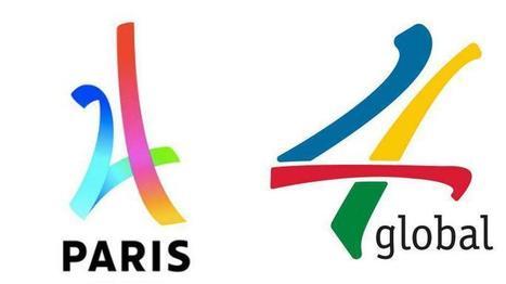JO 2024 : Paris a-t-il plagié son logo de candidature ? | Crise de com' | Scoop.it