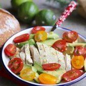 Salade poulet avocat tomates cerises » | dietconseil actualite dietetique nutrition évolution | Scoop.it