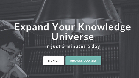 Highbrow Starts Your Morning with an Educational Course | Linguagem Virtual | Scoop.it