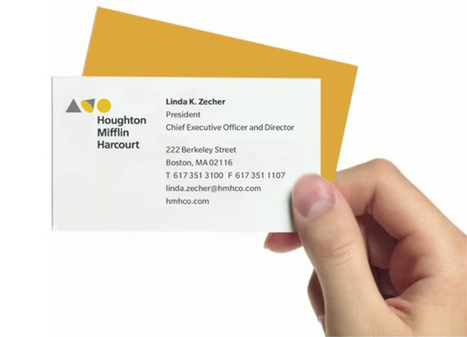 New Identity for Houghton Mifflin Harcourt (HMH) by Lippincott | timms brand design | Scoop.it