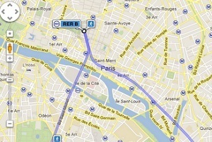 Google Maps : les trajets en métro et RER dans Paris sont disponibles | Actualité sur Google | Scoop.it