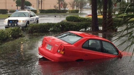 Miami under water: Severe thunderstorms flood streets | ApocalypseSurvival | Scoop.it