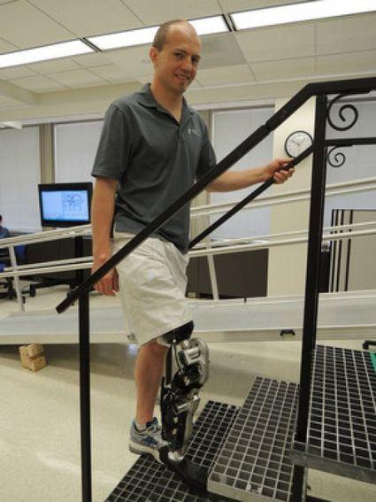 La première jambe bionique contrôlée par la pensée quasi parfaite | I was here | Scoop.it