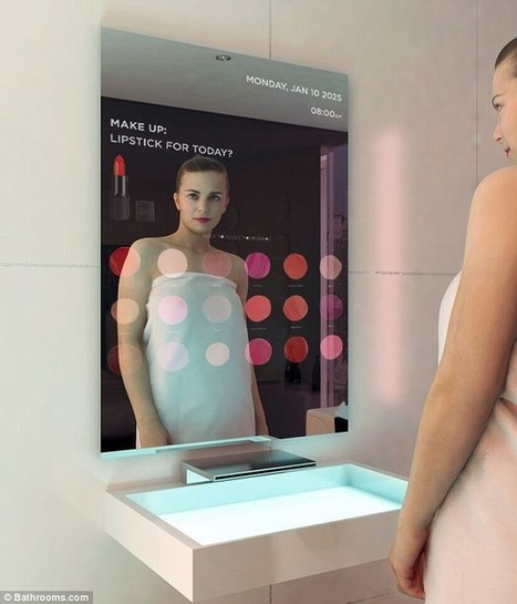 Bathroom of the future could include smart mirrors and robots | Scouting the Future | Scoop.it