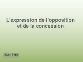 L'expression de l'opposition et de la concession | Pourquoi pas... en français  ? | Dossier - French Language Learning | Scoop.it