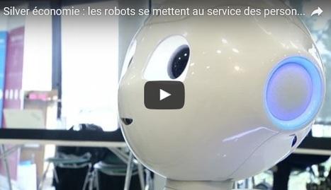Les robots se mettent au service des personnes âgées   La technologie au service des âges   Scoop.it