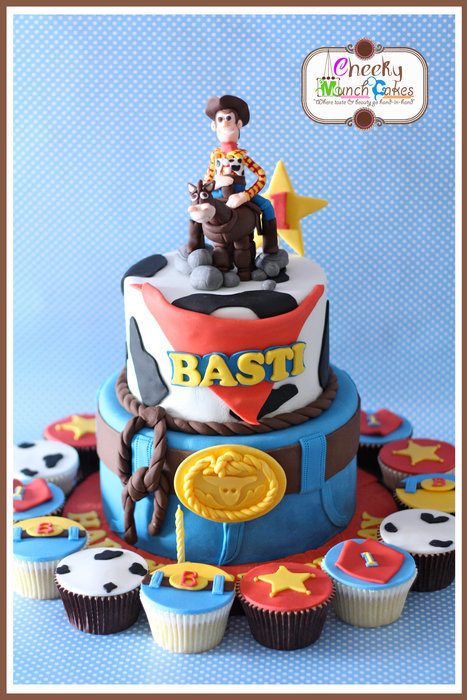 Toy Story - Woody & Bullseye | Disney Baking Recipes | Scoop.it